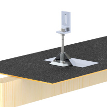 Solar Panel Mount Wasserdichte Asphalt Schindeldach Solar Kit Dachgepäckträger