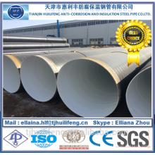 Tuyau en acier recouvert 3PE de haute qualité pour pipeline d'huile