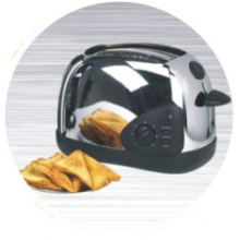 2-Slice Toaster Stainless Steel Housing