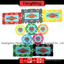Jeu de puces Poker autocollant (760PCS) Ym-Mgbg001