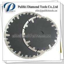 Lame de diamant de segment de Turbo fritté d'utilisation générale de 125mm 180mm
