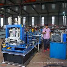 Steel sectional c z u channel section shpaed angle profile aluminum frame metal roof tile cz purlin roll forming production line