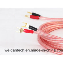Professional Made 2 X1.5mm2 Terminated Speaker Cable