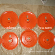 Steel Fabrication Sand Casting Pulley Wheel