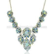 Frugal 2014 nouveau conçu mode Zinc Alloy pièces breloques collier