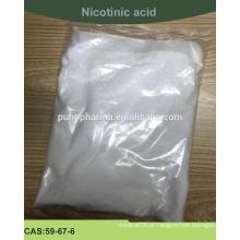 Forneça ácido nicotínico de alta qualidade (pó de ácido nicotínico) com padrão USP