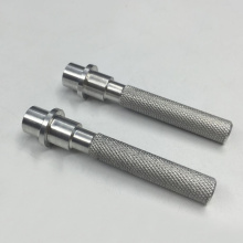 Machining Knurled Aluminum Rod