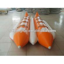 Barco de plátano de tubos doble