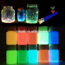 hot wholesale glow in dark pigment,luminous powder,glowing pigment