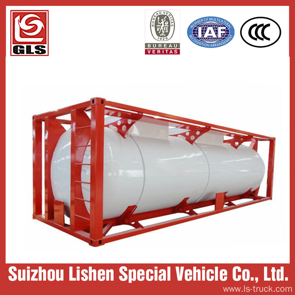 20ft Tank Container lpg Storage Tank ISO