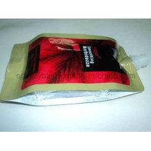 Bolsa de embalaje de plástico con sellador de 4 lados