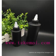 Farbe Haustier Plastikflasche Haustier Twist Kappe Flasche Haustier Spray Dropper Flasche mit weißen spitzen Mund Top Cap