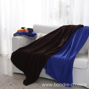 Micro Fleece Blanket Throw For Spring and Summer