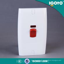 Igoto British Standard E18 elektrische Leistung Warmwasserbereiter Wandschalter Hersteller