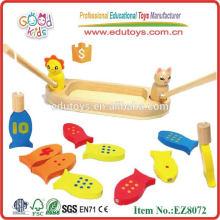 Nuevo juguete de madera de la pesca de los cabritos 2013