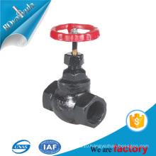 black steel globe valve NPT SW valve