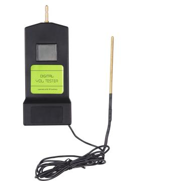 electric fence digital voltmeter