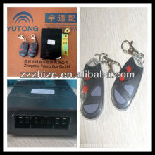hot sale emote control electric door lock for yutong bus / bus parts