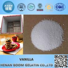 High quality usp natural food additive vanillin min 99.5%