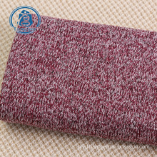 warm fleece 100% polyester sweater knit fabric