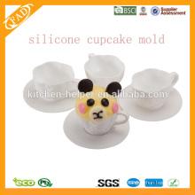 BPA Free, антипригарная силиконовая кекс, силиконовая форма для выпечки, силиконовая выпечка