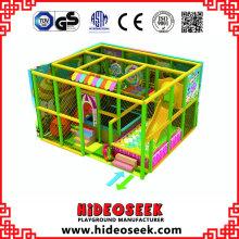 Equipamento de Playground indoor macio pequeno barato para crianças