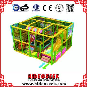 Petit équipement de terrain de jeu intérieur souple pour enfants