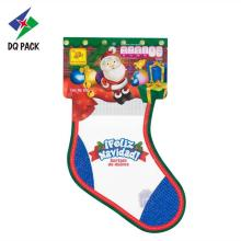 Plastic Packaging For Christmas Gift Candy Pouch