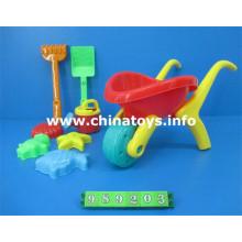 Vente chaude de jouets en plastique pour enfants Jouets d'été Ensemble de plage (989203)