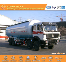 North-Benz 40m3 8x4 bulk cement transport tanker