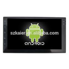 Android 4.4 Espelho-link Glonass / GPS 1080 P dual core carro full touch MP5 player para modelos universais com GPS / Bluetooth / TV / 3G