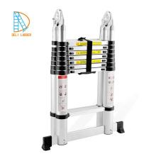 Escalera de mono de aluminio 5.0M con bisagras EN131 SGS CE
