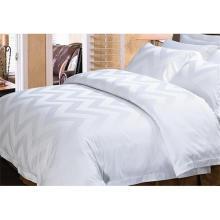 100% Algodão ou T / C 50/50 Jacquard Hotel / Home Bedding Set (WS-2016002)