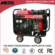 200A Diesel MMA motor impulsado por la máquina de soldadura AC DC