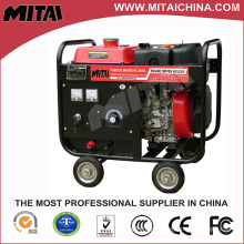 Ce 200A Petrol Engine Driven Arc Welder with DC 220V 3kw Output Power