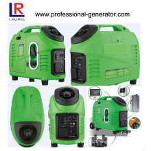 Portable Digital Inverter Gasoline Generator, 1kVA to 3kVA with 4-Stroke