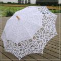 Parapluie haut de gamme en dentelle mariage blanc dentelle