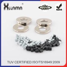 ISO/Ts16949 certificado modificado para requisitos particulares N35-N54 fuerte imán de neodimio