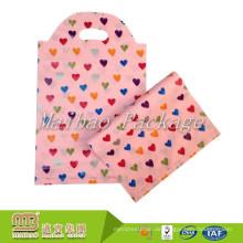 Heavy Duty Custom gestanzte personalisierten Druck tragen kleine Polyethylen Geschenk Plastiktüte Verpackung