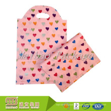 Heavy Duty Custom Die Cut Personalized Printing Carry Small Polythene Gift Plastic Bag Packaging