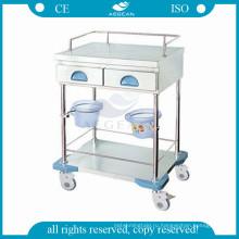 АГ-MT035 подвижные клинике медсестра подвижное рабочее место медицинская тележка