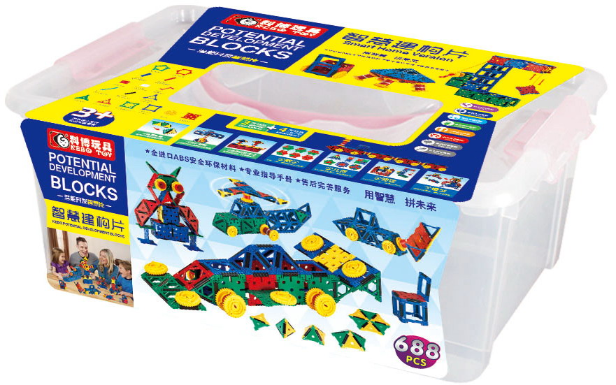 MAG-WISDOM Inspire 688-Piece Magnetic Construction Set