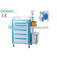 DW-FC001 Carrinho médico de alta qualidade com gavetas