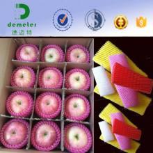 Emballage de mousse de polyéthylène EPE de fruits et de verre