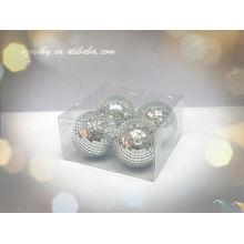 дешевые небольшой зеркальный шар для Рождество ,клуба или домашней вечеринки