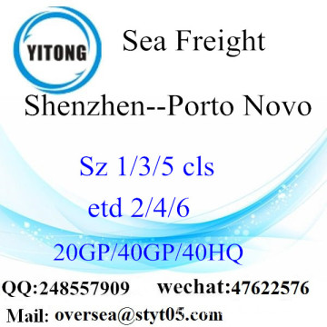 Shenzhen Port Sea Freight Shipping To Porto Novo