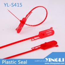 Selo de segurança de plástico descartável para contêiner e transporte (YL-S415)