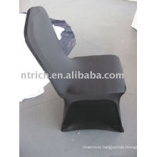 black wedding chair covers,CTS634 spandex chair cover,stretch chair cover for banquet,wedding,hotel