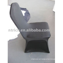 capas de cadeira de casamento preto, tampa da cadeira spandex CTS634, tampa da cadeira do estiramento para o banquete, casamento, hotel
