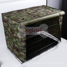 Couverture imperméable de caisse d'animal familier pour la couverture de cage de chenil de chien de caisse de fil 4sizes